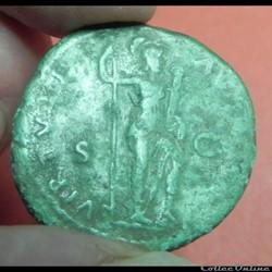 monnaie antique romaine domitien as