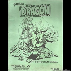 manuel flipper dragon  gottlieb's