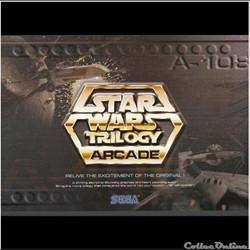 flyer double sega star wars trilogy jeu vidéo