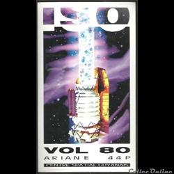 ARIANE44   KOUROU  VOL N°80  satellite  ...