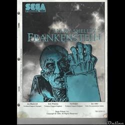 manuel flipper SEGA FRANKENSTEIN 1994