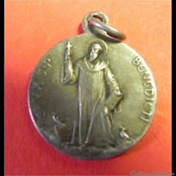 médaille St Benoît fin XIX éme