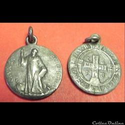 La médaille de Saint Benoît. 20 éme S