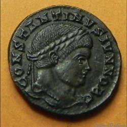 Constantin I    (?) VOT X  TICINUM
