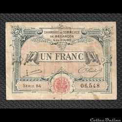 1 franc Besançon chambre de commerce