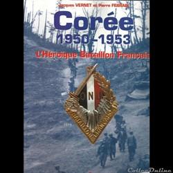 Corée  l'heroïque bataillon Français 195...