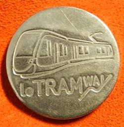 Besançon      jeton tramway