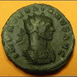 monnaie antique romaine aurelien fortuna redux p siscia mint 1st officina