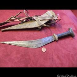 Danakyl  couteau  des Afars et des Issas