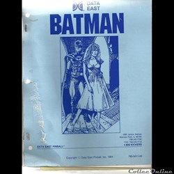 Manuel Flipper Data East Batman Pinball ...