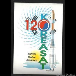 ARIANE  KOUROU  VOL N°120 satellite KORE...