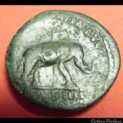 Antoninus Pius    AS   éléphan  COSIIII