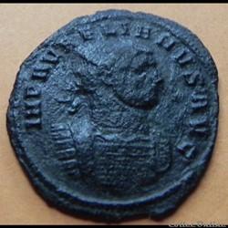 monnaie antique romaine aurelien concordiamilitvm gamma