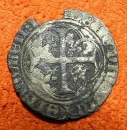 François I  1540 douzain aux  couronnell...