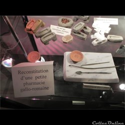 outils d'oculiste gallo-romain...
