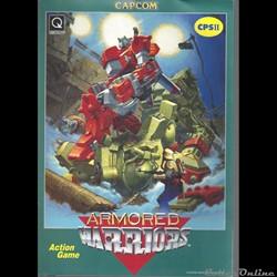 flyer arcade capcom ARMORED WARRIORS