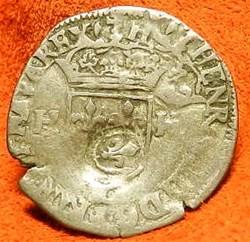 contremarqué en quinzain sous Louis XIII...