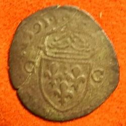 douzain  CHARLES X 1595