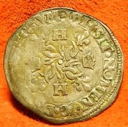 Henri II douzain aux croissants 1551    ...