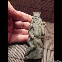 dieu  Bes en terre cuite     Égypte infl...