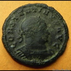 Constantin II follis réduit CLARITAS REIPVBLICAE