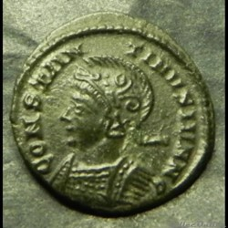 Constantin II  BEATA TRAN-QVILLITAS  têt...