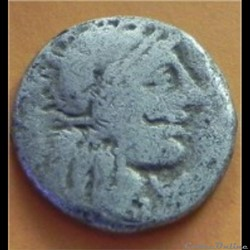 tête casquée  à droite   Gaius Fannius (...