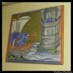 tableau réalisé par les élèves de Roulans   25640
