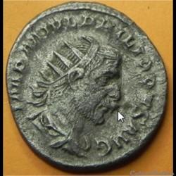 PHILIPPE Ier L'ARABE  défaut de coin (bouche)