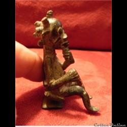 poids à or de chefferie  ancêtre   DOGON