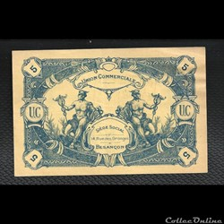 5 francs BESANCON  union commerciale.nov...