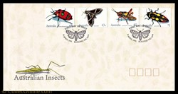 AUSTRALIAN INSECTS - 2 x 43c DIFFERENTS ...