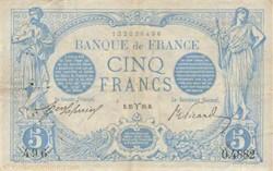 5 FRANCS 25 MARS 1915