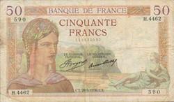 50 FRANCS 28 MAI 1936