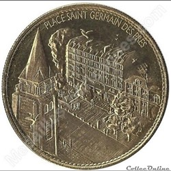 PARIS - PLACE SAINT GERMAIN DES PRES - N...