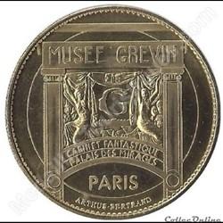 monnaie jeton mereaux france paris musee grevin charlie chaplin non datee 2008