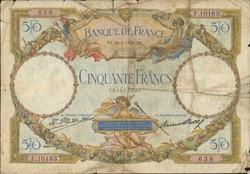 50 FRANCS 28 AVRIL 1932
