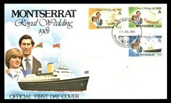 ROYAL WEDDING 1981 - 90c ; 3$ ; 4$ - CAC...