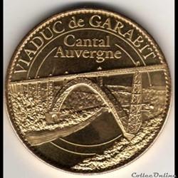 AUVERGNE - CANTAL - VIADUC DE GARABIT - 2010
