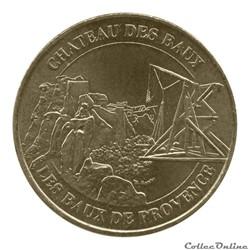 LES BAUX DE PROVENCE - CHATEAU DES BAUX - 2011