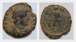 VALENTINIAN I AE3, RIC 10a, Gloria Roman...
