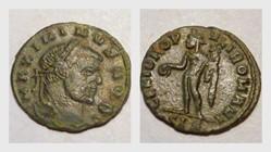 MAXIMINUS II AE27 Follis RIC VI 170b, Ge...