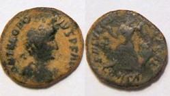 THEODOSIUS I AE4, RIC 86b.1 , Victory