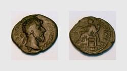 LUCIUS VERUS, Denarius, RIC 586, Fortuna