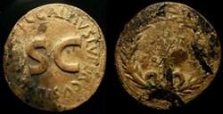 AUGUSTUS AE Dupondius
