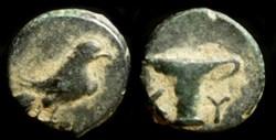 AEOLIS, KYME AE 11