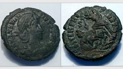 CONSTANTIUS II AE3 RIC VIII 267, FEL TEM...