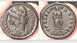 FAUSTA AE3, RIC 40, Spes