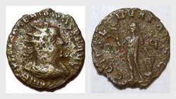 VALERIAN I Antoninianus, RIC 83, Apollo