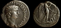 CLAUDIUS AR Denarius